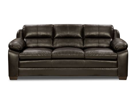 pub sofa simmons upholstery espresso pub back sofa shop living