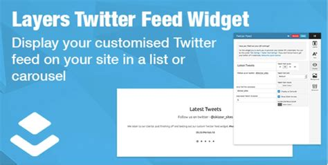 twitter feed layout 10 best wordpress twitter widgets