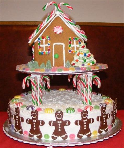 gingerbread house cake 171 custom cakes of ontario