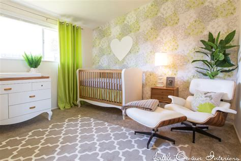 Green Nursery Decor Design Reveal A Modern Lime Green Nursery Project Nursery