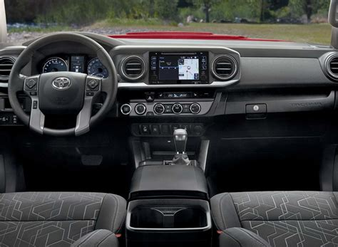Toyota Tacoma Interior by 2017 Toyota Tacoma Review