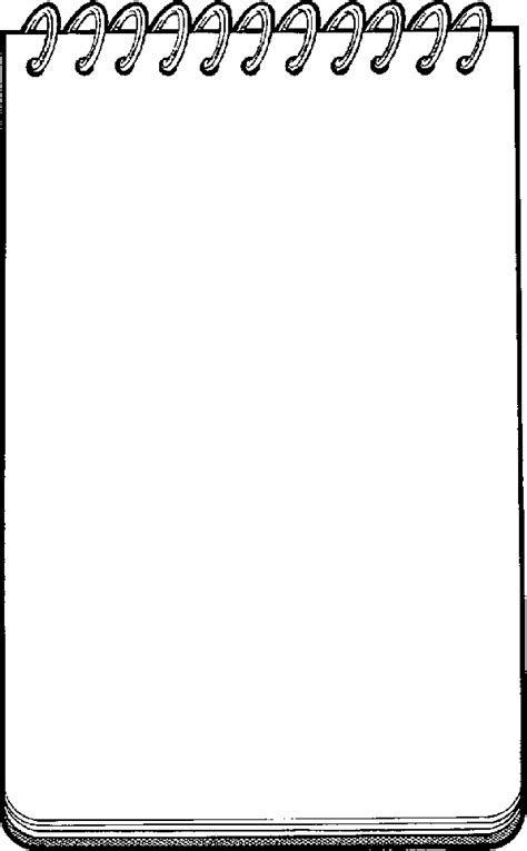 painting blank page blank notepad clip clipart panda free clipart images