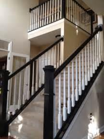 Stair Banisters Railings by Top 25 Best Painted Stair Railings Ideas On