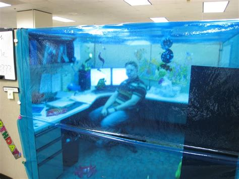 Best Fish For Office Desk 40 Best Images About Cubicle Pranks On Cubicles Pranks And Pranks