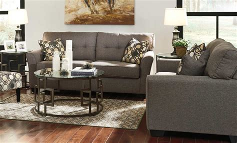 livingroom packages tibbee slate 5 piece living room package living room