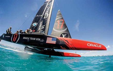 hydrofoil catamaran oracle hydrofoils boats that fly boatus magazine