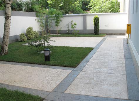 Terrasse Wohnfläche by Le Beton Imprim 233 Est Utilis 233 Pour Votre Terrassement