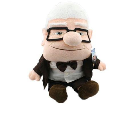 up film toys pixar movie up carl fredricksen grandpa carl plush toy