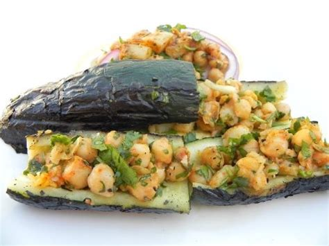 stuffed zucchini boats grilled 1000 ideas about grilled zucchini boats on pinterest