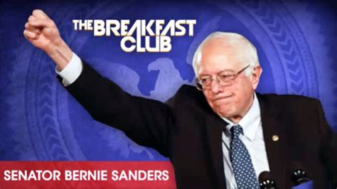 bernie sanders releases statement trump tapped into the anger of a bernie sanders talks trump brooklyn with the breakfast