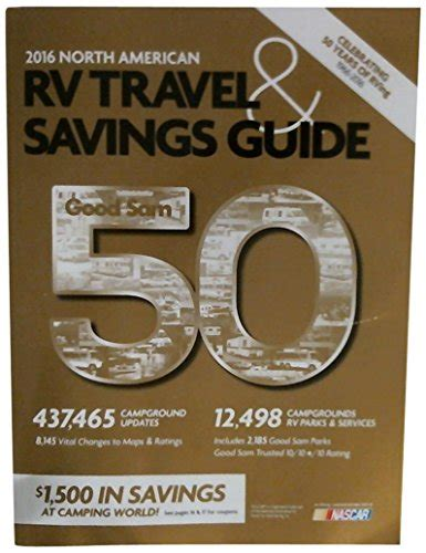 the sam rv travel savings guide sams rv travel guide cground directory books cheapest copy of 2016 sam rv travel savings guide
