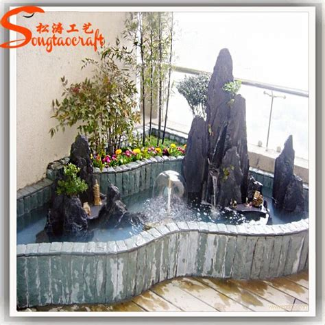 decorative waterfalls for home indoor artificial decorative waterfall fountain mini