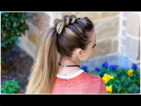 cute hairstyles videos download pull thru ponytail cute girls hairstyles 3gp mp4 hd free
