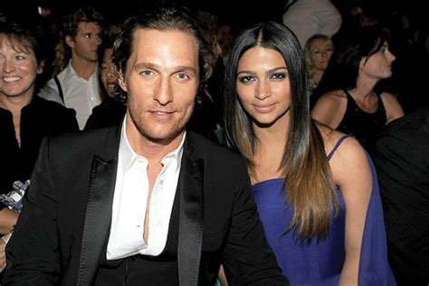 popular white actors with their black spouses interracial biracial beauty images matthew mcconaughey camila alves
