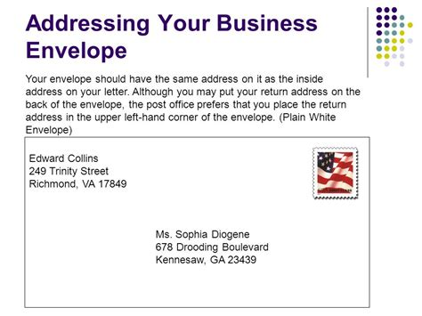 Business Letter Format Envelope business letter envelope format the letter sle
