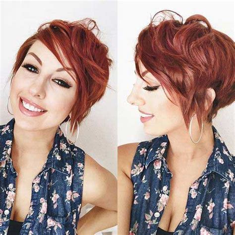 red pixie haircuts pixie haircuts 10 red pixie cut short hairstyles 2017 2018 most