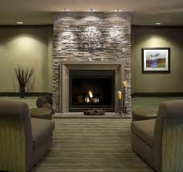 Fireplace Ideas With Stone Fireplace Mantels And Surrounds
