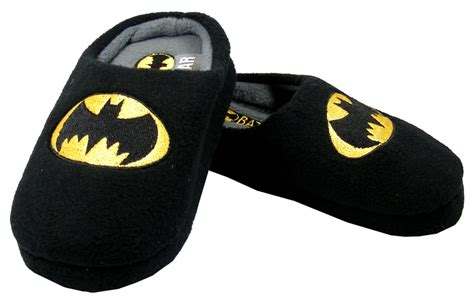 childrens batman slippers new boys black batman slipper slip on slippers nwt sz