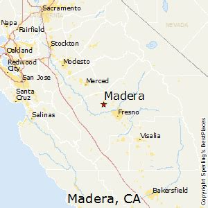 madera california map best places to live in madera california