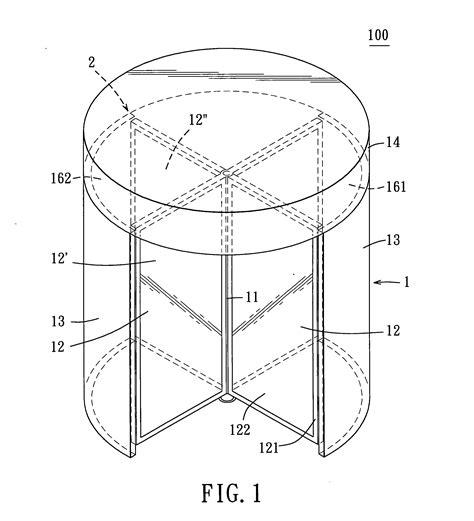 revolving door section patent us20050045078 security revolving door assembly