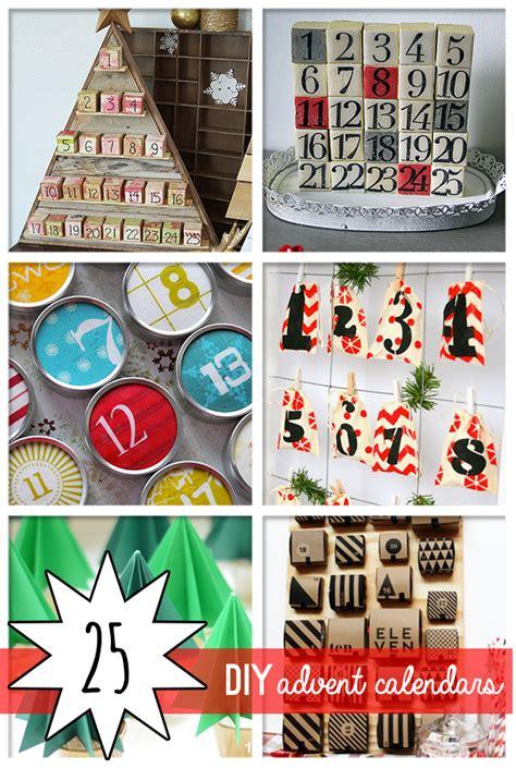 easy to make advent calendar 25 diy awesome advent calendars to make