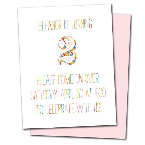 2nd Anniversary Card Template by Eleanor S Second Birthday Complete With Rainbow