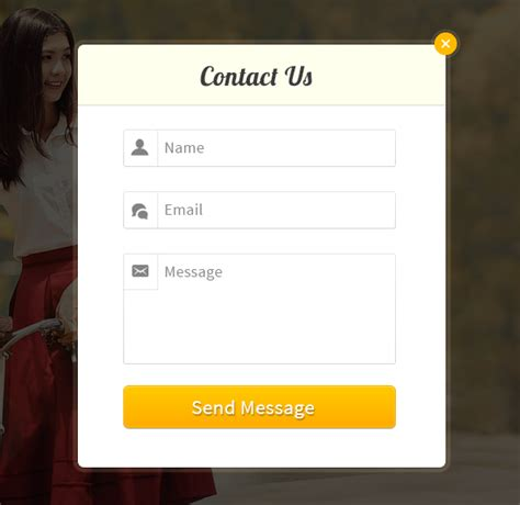 design form using javascript how to create pop up contact form using javascript