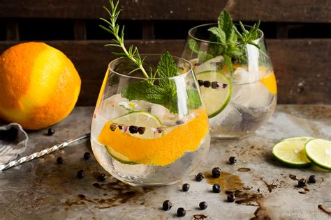 Cold Recipes by Spanish Gin Tonics Fox And Briar