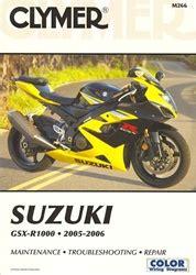 Suzuki Gsxr 1000 Manual 2005 2006 Clymer Service
