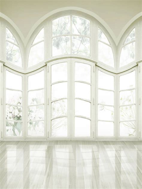 Background Foto Girly Magic Studio white windows wedding photography studio backdrop 10x20