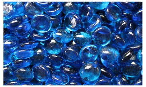 glass bead fireplace aqua blue glass for pit or fireplace 10