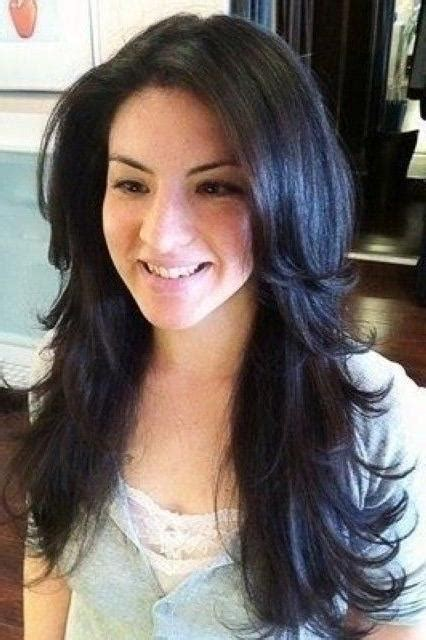 hairstyle gallary for layered ontop styles and feathered back on top 15 best ideas of long hairstyles feathered layered