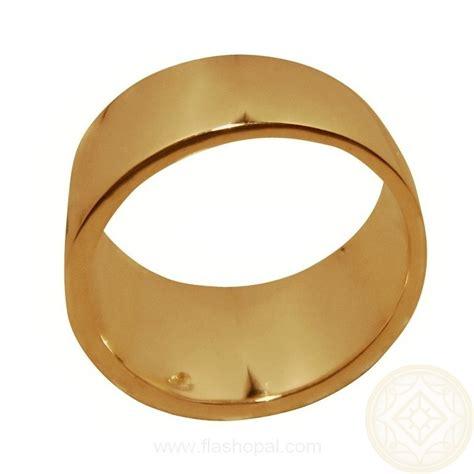 s opal ring geometric inlay wide band 14k gold flashopal