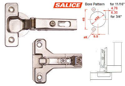 kitchen cabinet hinge template salice america inc c2p6a99 bau3r19 salice concealed