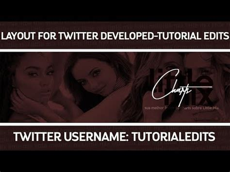 twitter layout tutorial layout for twitter tutorial edit photoshop tutorial