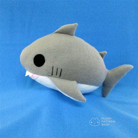 plush toy pattern design software plush shark pdf shark sewing pattern great white shark