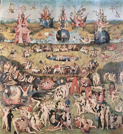 Gro 223 Bild Hieronymus Bosch Der Garten Der L 252 Ste