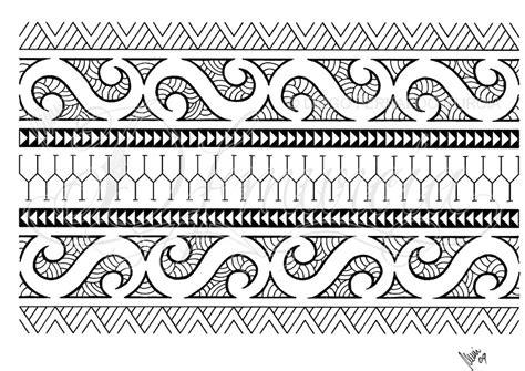 polynesian band tattoo designs polynesian armband 01 by dfmurcia on deviantart