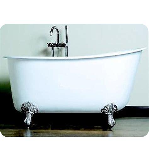 54 inch cast iron bathtub cambridge plumbing swed54 nh 54 inch cast iron swedish