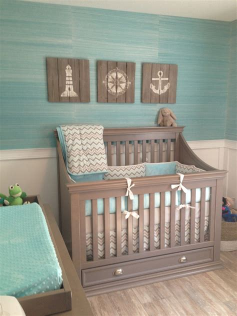 Gallery Roundup Nautical Nurseries Project Nursery Baby Crib For Boys
