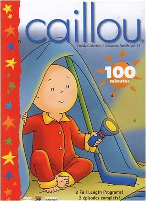 the half of us family collection volume 1 caillou family collection volume 11 bilingual on dvd