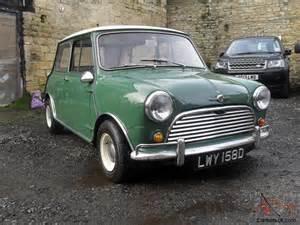 Mk1 Mini Cooper Mk1 1966 Mini Cooper Green White