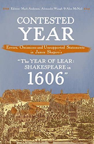 1606 william shakespeare and 0571235786 awardpedia the year of lear shakespeare in 1606