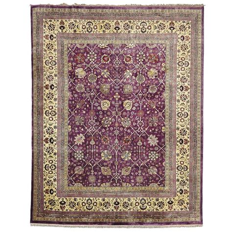 purple green rug safavieh knotted ganges river purple light green wool rug 8 x