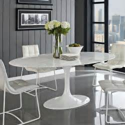 Oval Dining Room Sets top 5 gorgeous white marble round dining tables