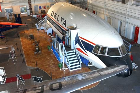 Air Museum Network Delta S Revamped History Museum Gets