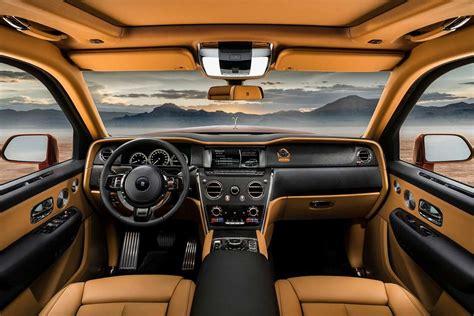 roll royce suv interior rolls royce cullinan suv interior 2019 autobics