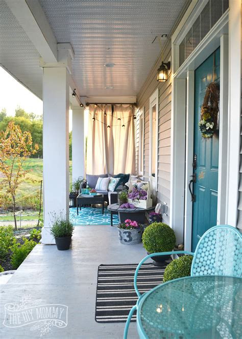 porch decor french country boho porch decor ideas in teal aqua gray