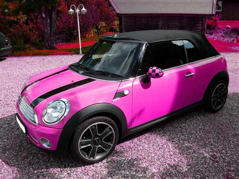 Pink Mini Cooper Convertible 301 Moved Permanently