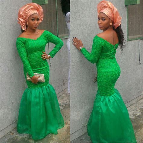 skirt and blouse asheobi top 10 latest aso ebi styles beautiful rock green aso